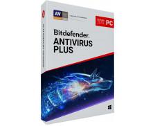 Logiciel anti-virus Plus - BITDEFENDER - 2019 - 3 postes - 2 ans