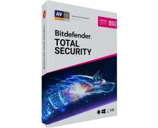 Logiciel anti-virus Total Security 2019 - BITDEFENDER - 10 postes - 2 ans