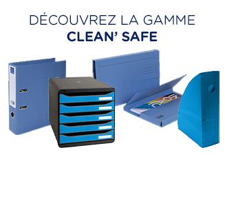 Découvrir la gamme CleanSafe d'Exacompta