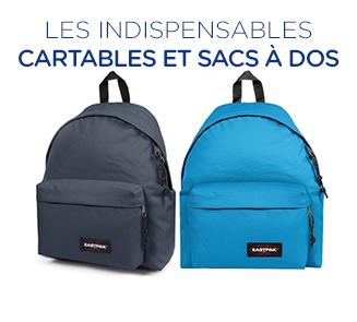 Les cartables et sac à dos
