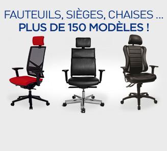 Sélection de fauteuils et chaises de bureau