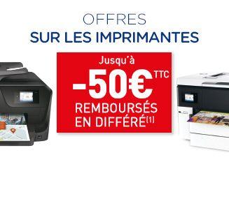Offre sur les imprimantes