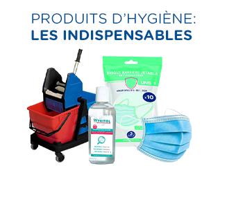 Produits d'hygiène et d'entretien