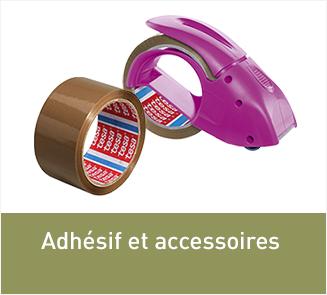 Les adhésifs et accessoires