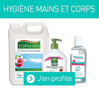 Les solutions lavantes pour les mains et corps et le gel hydroalcoolique