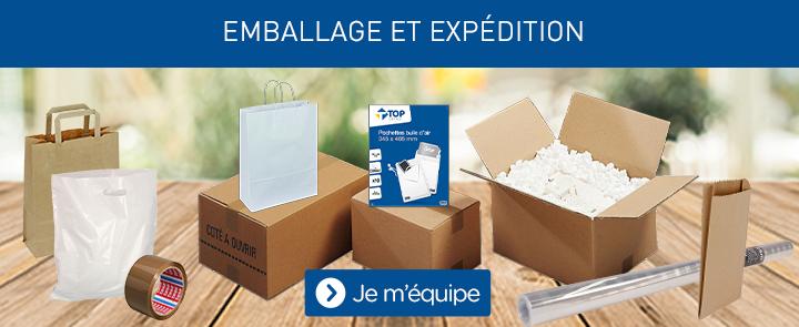 Emballages et expédition
