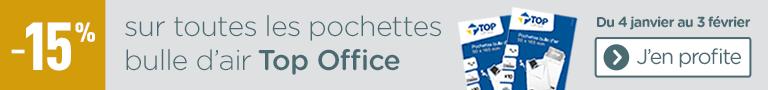 Pochette bulle Top Office