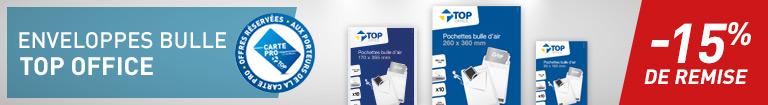 Enveloppes bulle Top Office