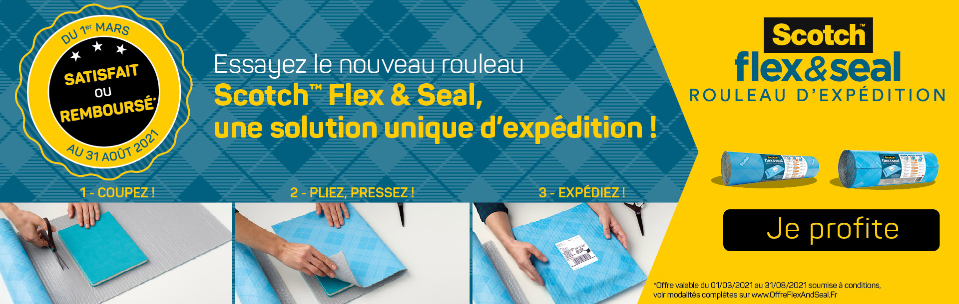 Flex and Seal