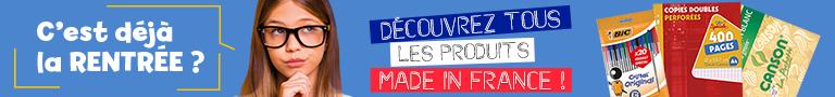 Une rentrée des classes Made In France
