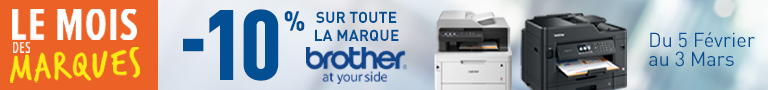 10% marque BROTHER