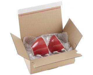 boîte expédition papier bulle