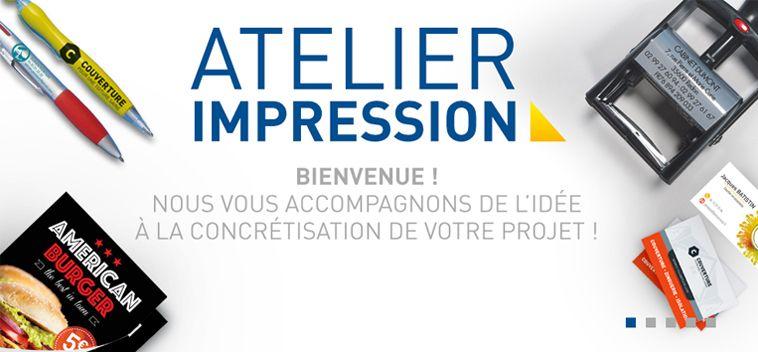 Le service Atelier Impression