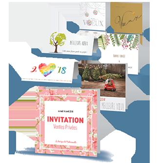 Les cartes de vœux